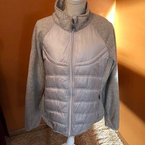 London n Fog mixed media jacket.  Size XL